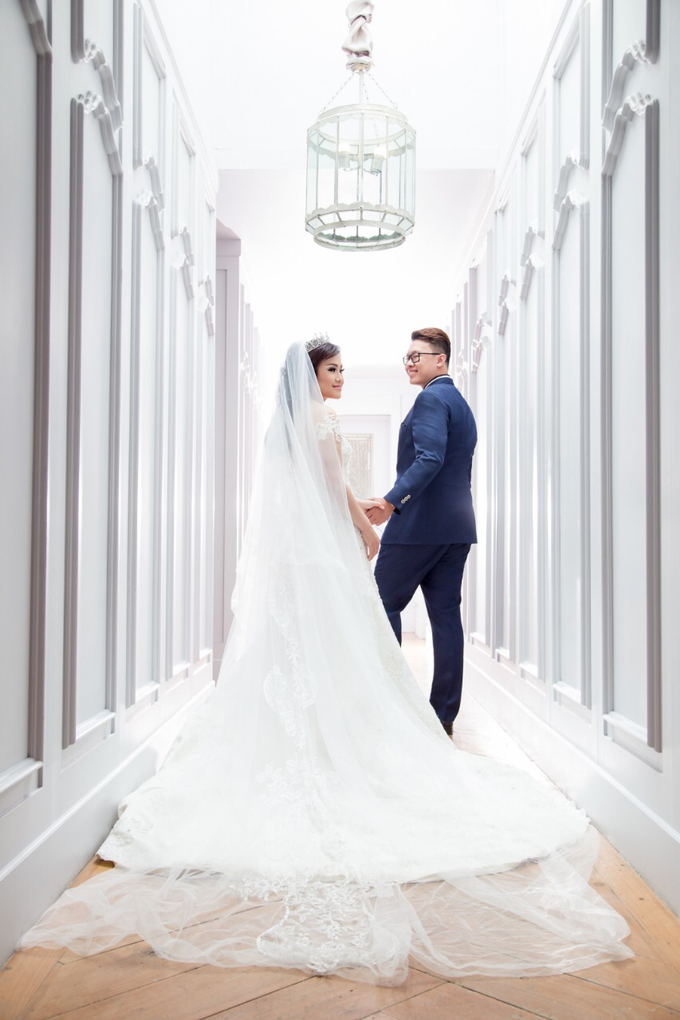 Wedding of Rinaldi & Fillicia by Tracy Bridal House - 008