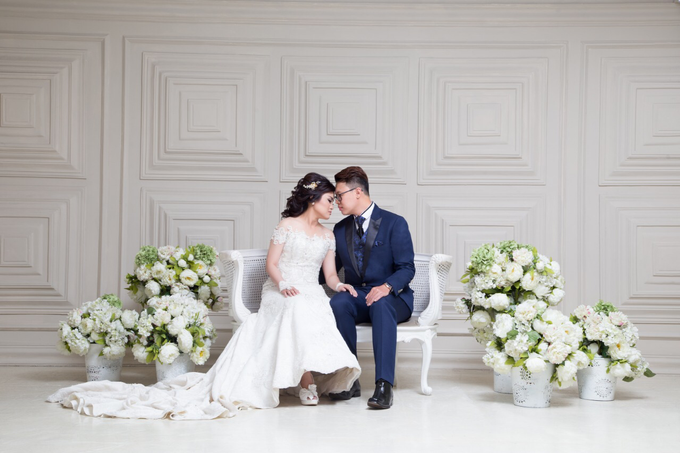 Wedding of Rinaldi & Fillicia by Tracy Bridal House - 010