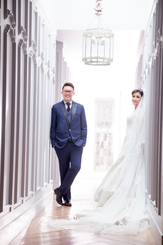 Wedding of Rinaldi & Fillicia by Tracy Bridal House - 011