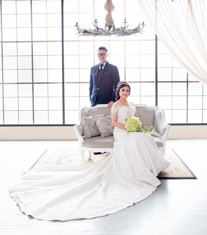 Wedding of Rinaldi & Fillicia by Tracy Bridal House - 014