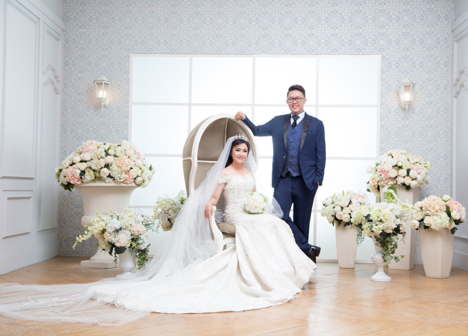 Wedding of Rinaldi & Fillicia by Tracy Bridal House - 015