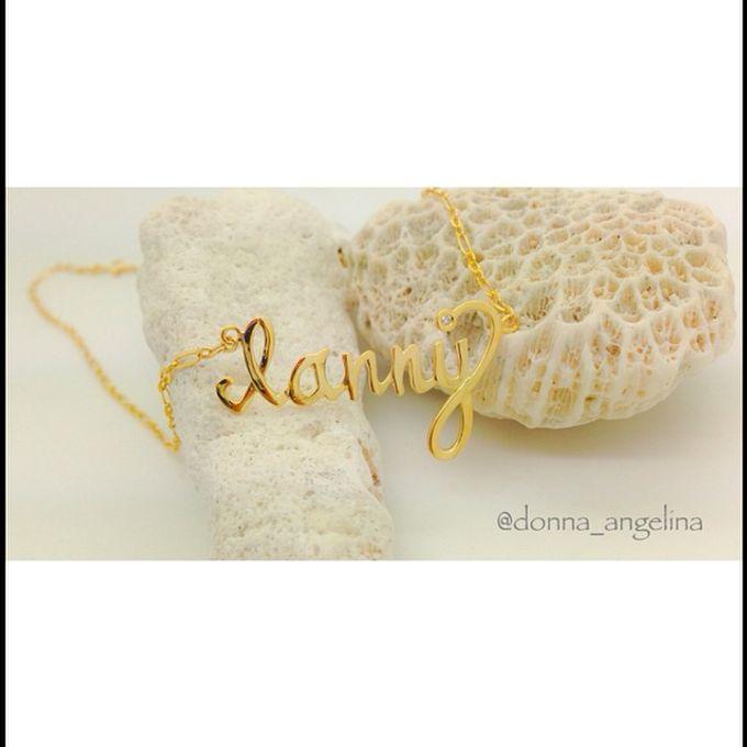 Name & Initial by DA Jewelry - 020