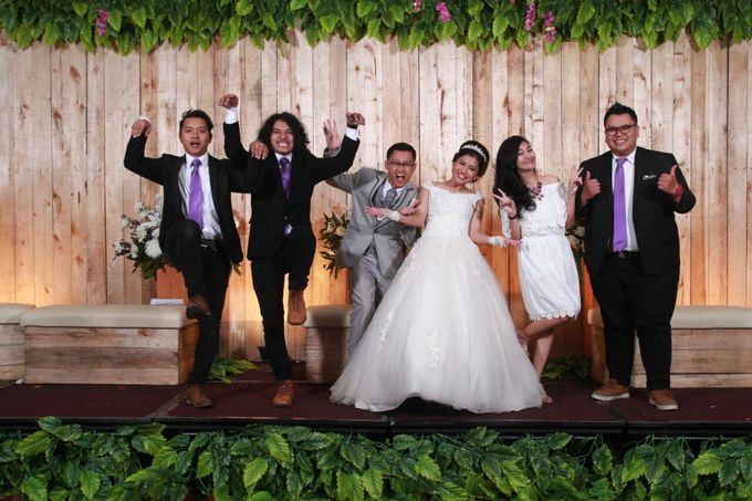 Rasimin & Viola Wedding At Fave Hotel by Fave Hotel Hypersquare - 005