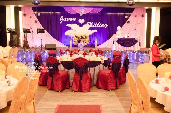 Stage Backdrop Design by Wedding And You - 010