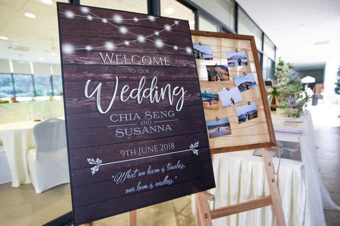 A Rustic Botanical Wedding at Hort Park by Manna Pot Catering - 022