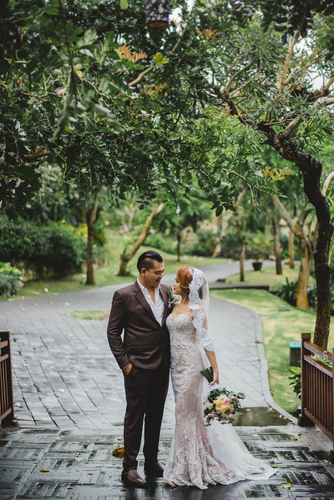 Rain Wont Stop The Love by AMOR ETERNAL BALI WEDDING & EVENTS - 001