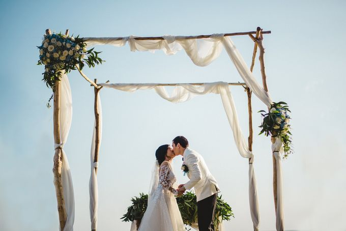 Tropical Rustic Wedding of Wesley & Laura by Silverdust Decoration - 002