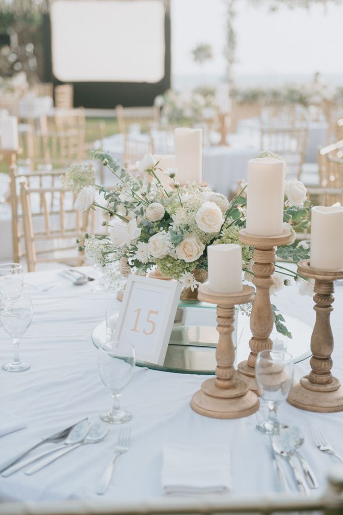 Wedding Decoration at Villa Phalosa by d'Oasis Florist & Decoration - 013