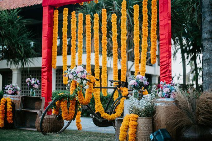 Wedding decor by d'Oasis Florist & Decoration - 009