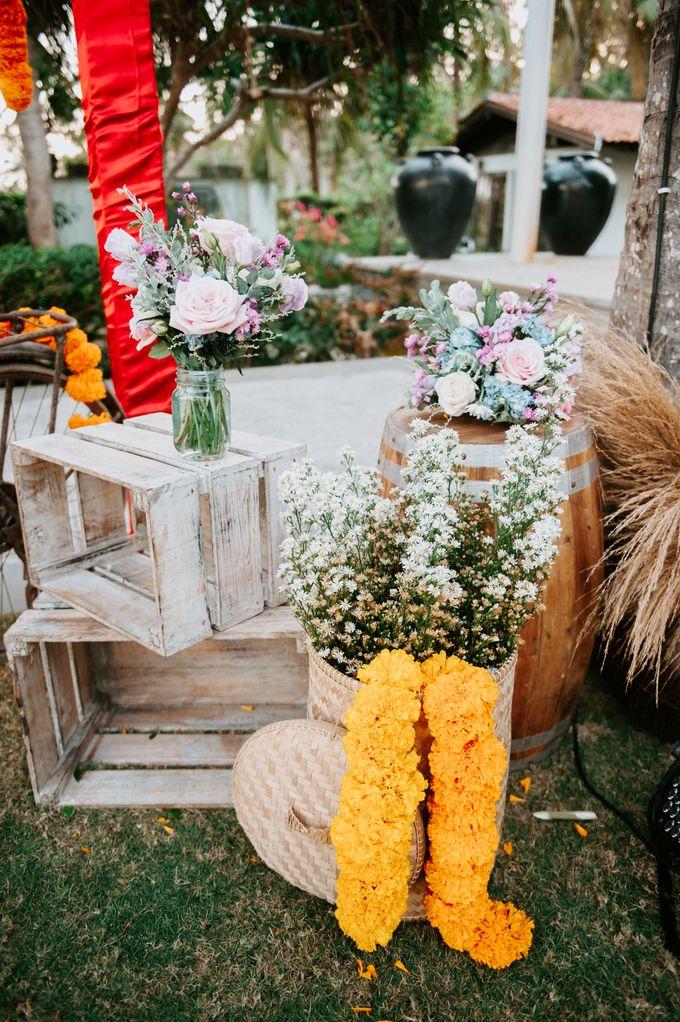 Wedding decor by d'Oasis Florist & Decoration - 010