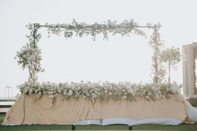 Wedding Decoration at Villa Phalosa by d'Oasis Florist & Decoration - 014