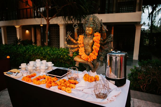Wedding decor by d'Oasis Florist & Decoration - 011
