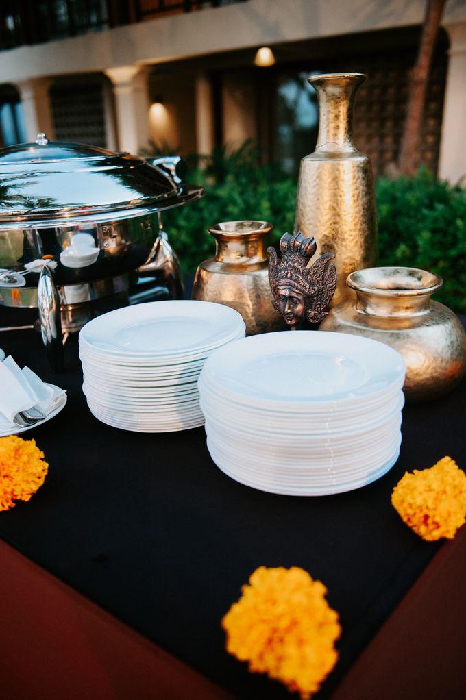 Wedding decor by d'Oasis Florist & Decoration - 012