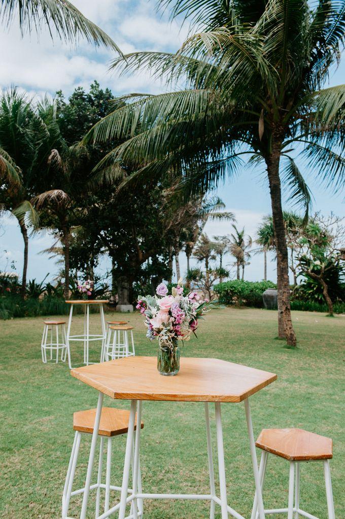 Wedding decor by d'Oasis Florist & Decoration - 001