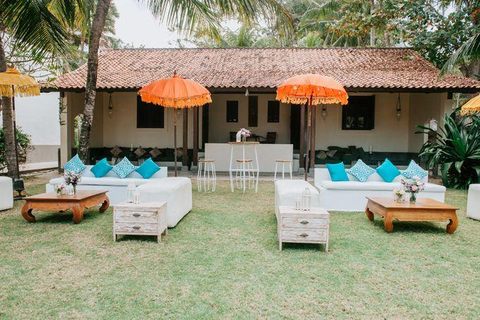 Wedding decor by d'Oasis Florist & Decoration - 003