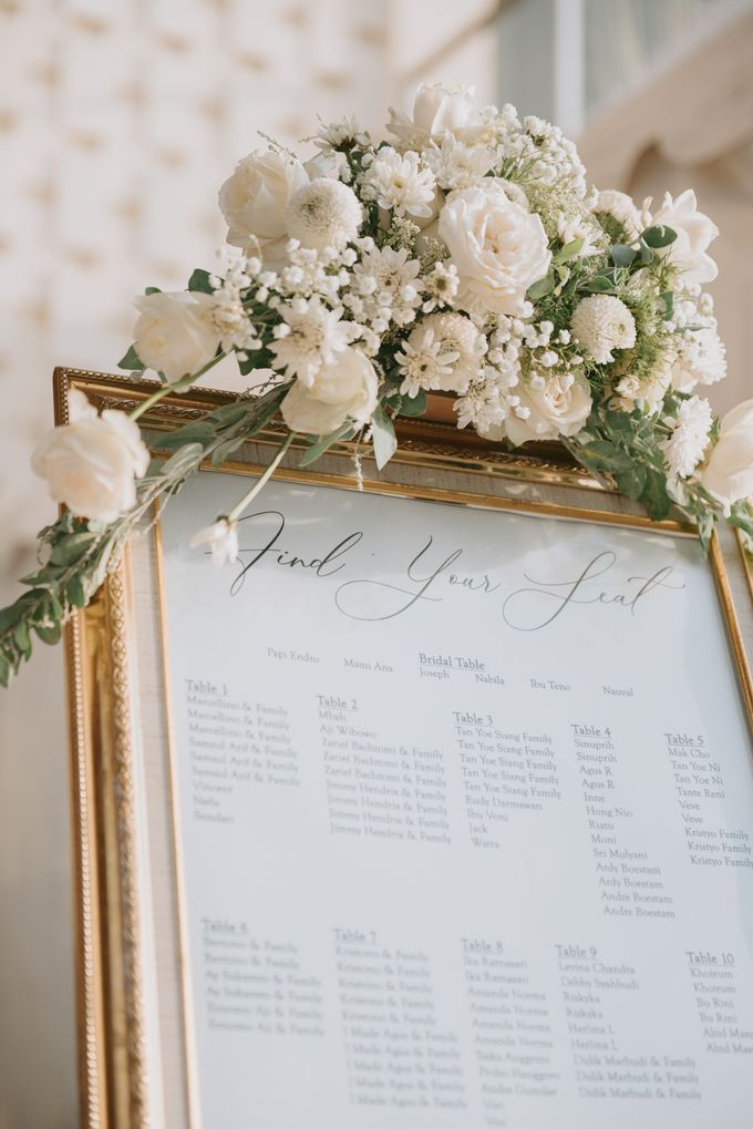 Wedding Decoration at Villa Phalosa by d'Oasis Florist & Decoration - 002