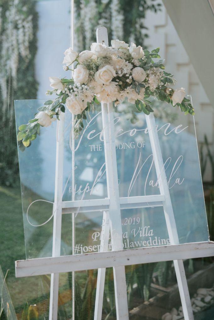 Wedding Decoration at Villa Phalosa by d'Oasis Florist & Decoration - 003