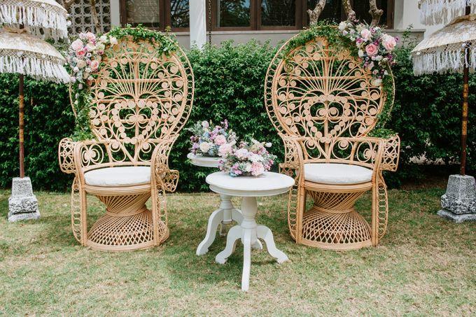 Wedding decor by d'Oasis Florist & Decoration - 004