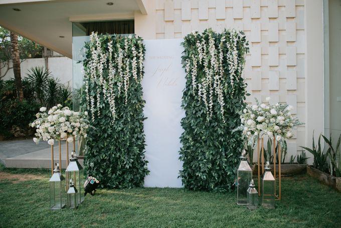 Wedding Decoration at Villa Phalosa by d'Oasis Florist & Decoration - 004