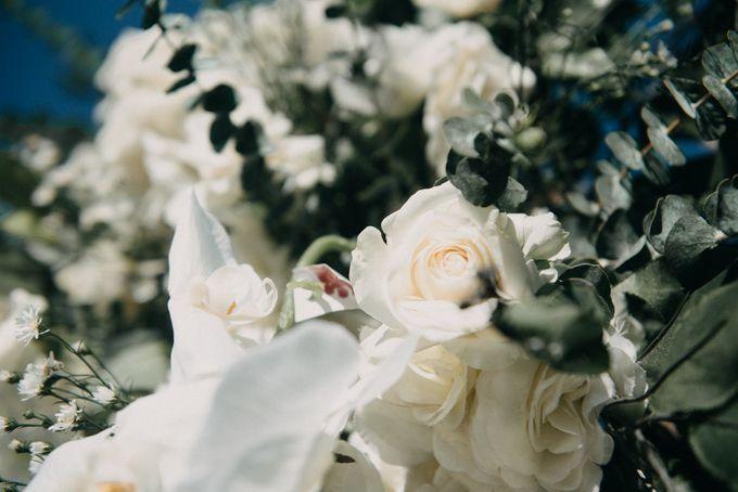 The Wedding of Gina & Region by Red Gardenia - 011