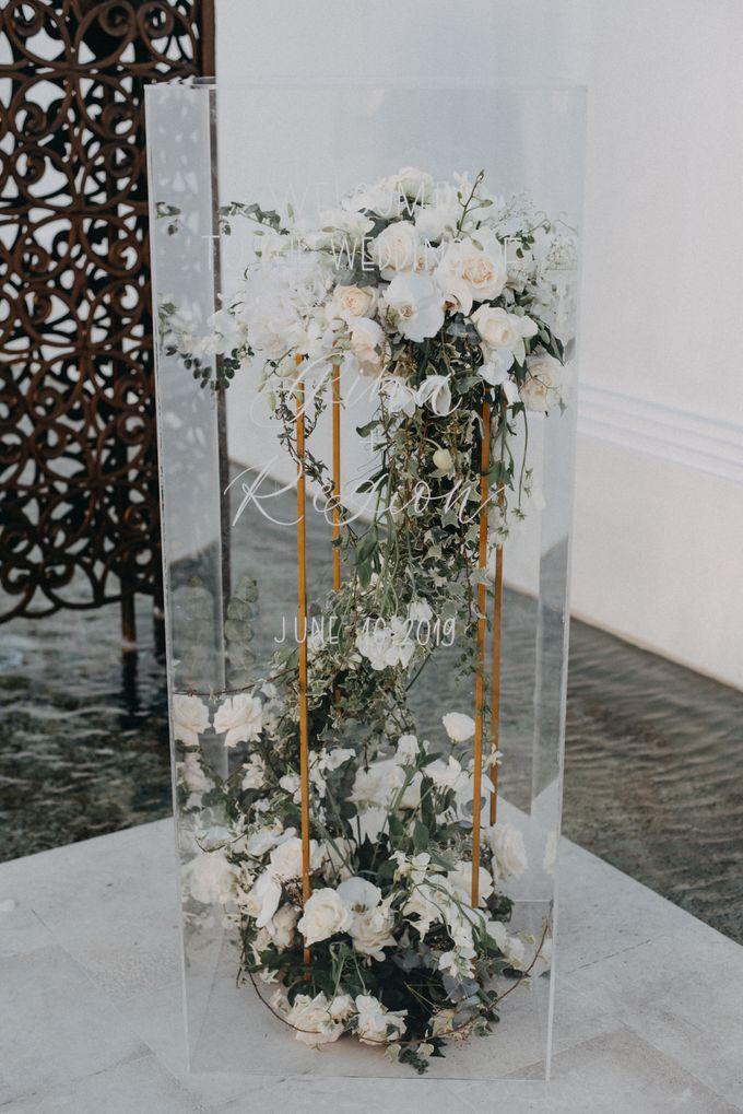 The Wedding of Gina & Region by Red Gardenia - 018