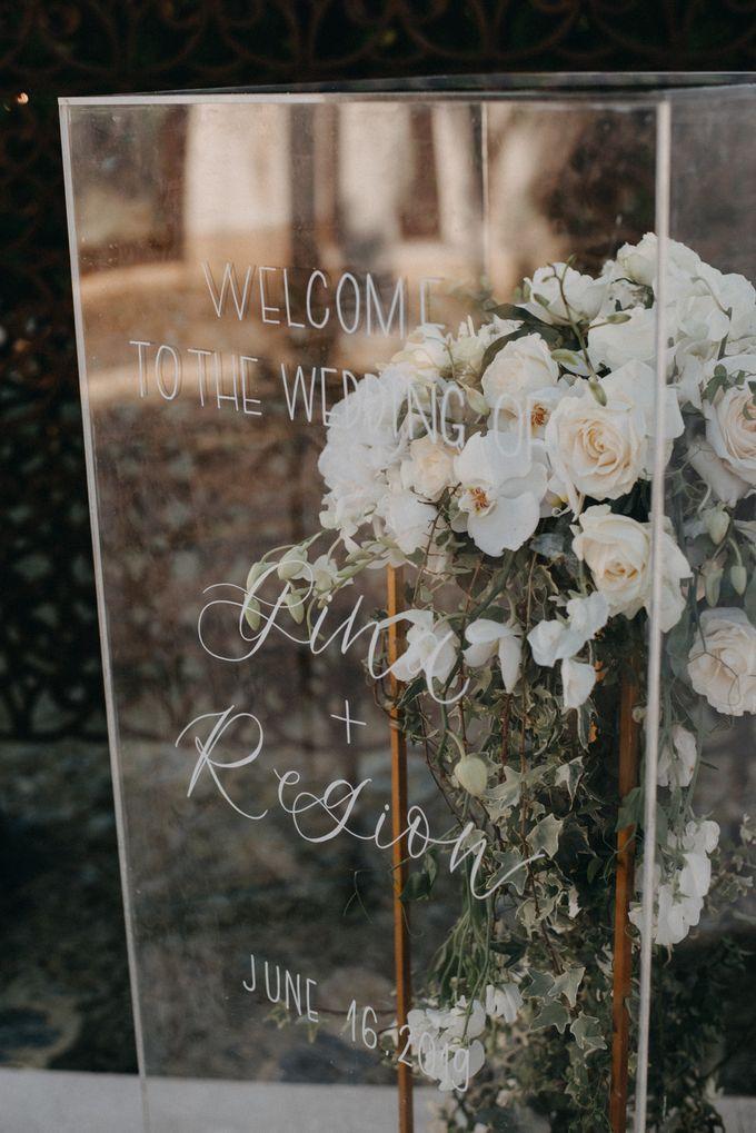 The Wedding of Gina & Region by Red Gardenia - 019