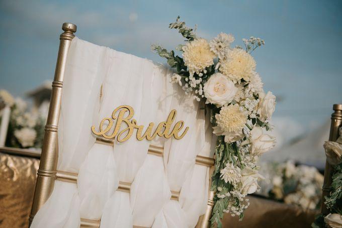 Wedding Decoration at Villa Phalosa by d'Oasis Florist & Decoration - 009