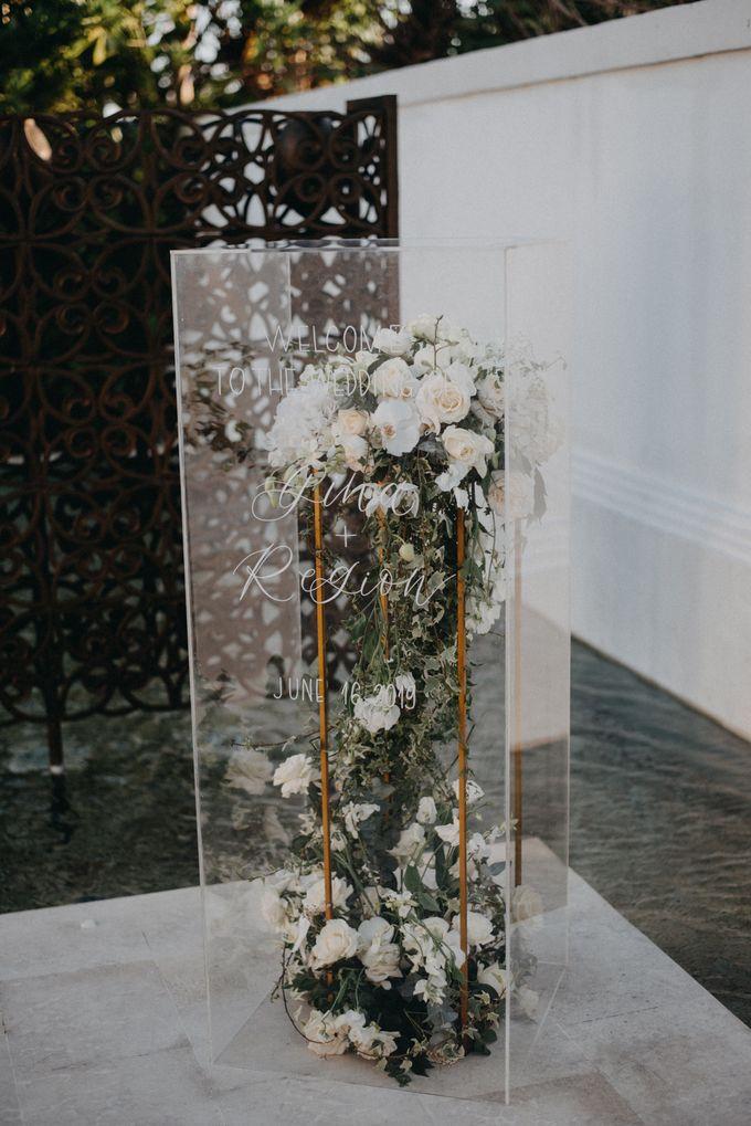 The Wedding of Gina & Region by Red Gardenia - 020