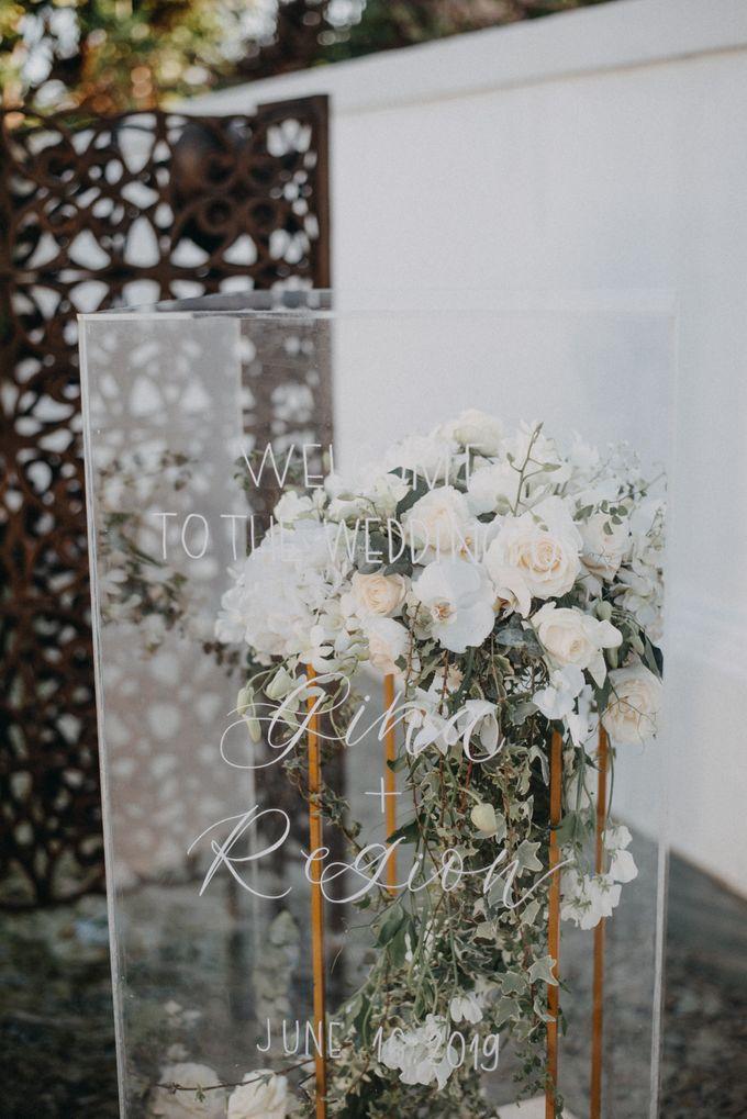 The Wedding of Gina & Region by Red Gardenia - 021
