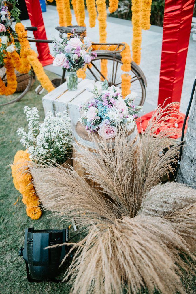 Wedding decor by d'Oasis Florist & Decoration - 006