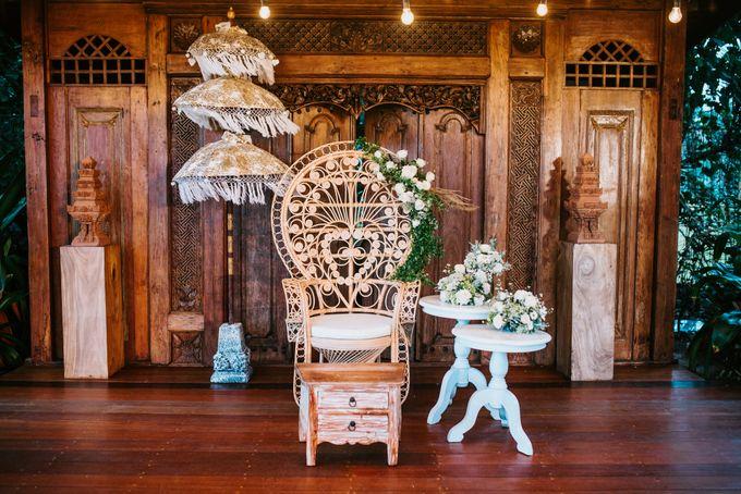 Rustic Decor at Jeeva Saba Villa by d'Oasis Florist & Decoration - 012