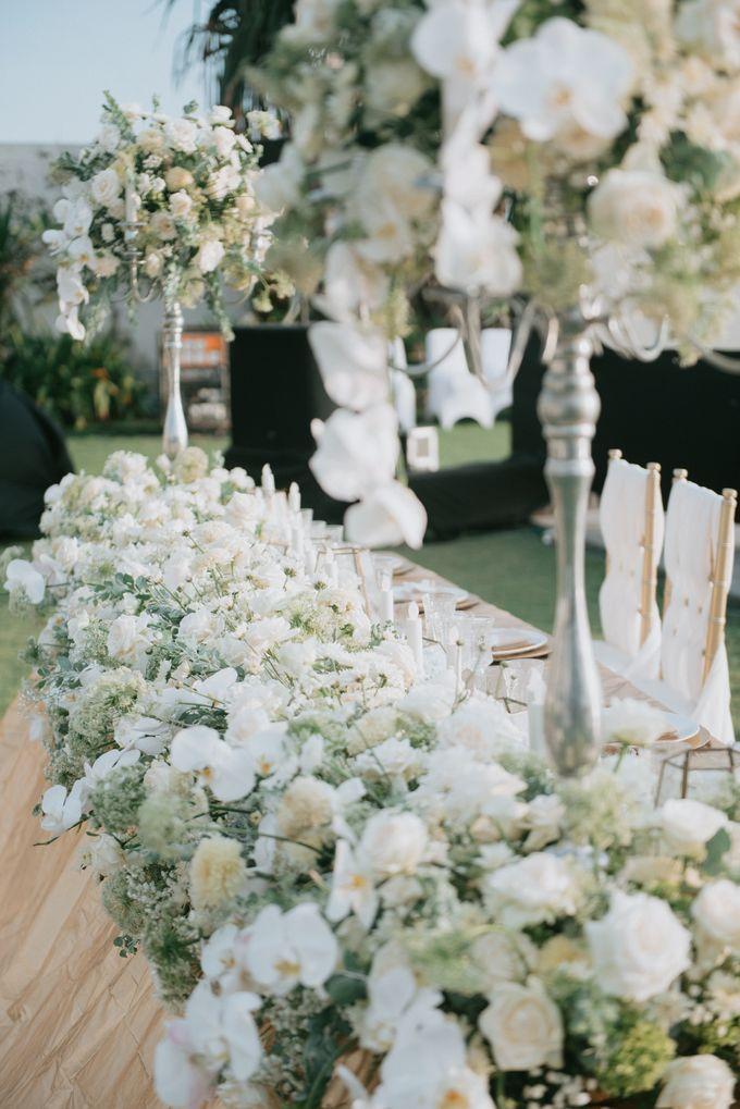 Wedding Decoration at Villa Phalosa by d'Oasis Florist & Decoration - 010