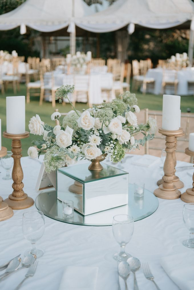 Wedding Decoration at Villa Phalosa by d'Oasis Florist & Decoration - 011
