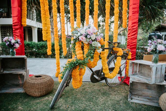 Wedding decor by d'Oasis Florist & Decoration - 007