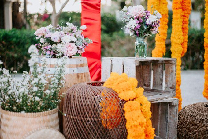 Wedding decor by d'Oasis Florist & Decoration - 008