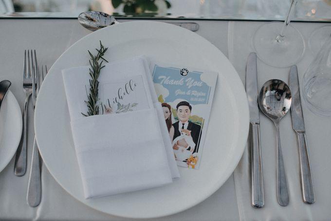 The Wedding of Gina & Region by Red Gardenia - 048