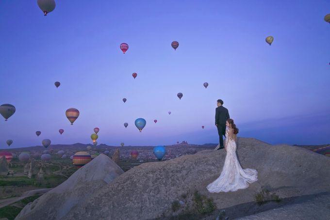 Casual Destination PreWedding at Cappadocia by ALLUREWEDDINGS - 004