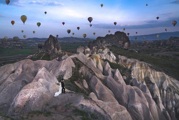 Casual Destination PreWedding at Cappadocia by ALLUREWEDDINGS - 005