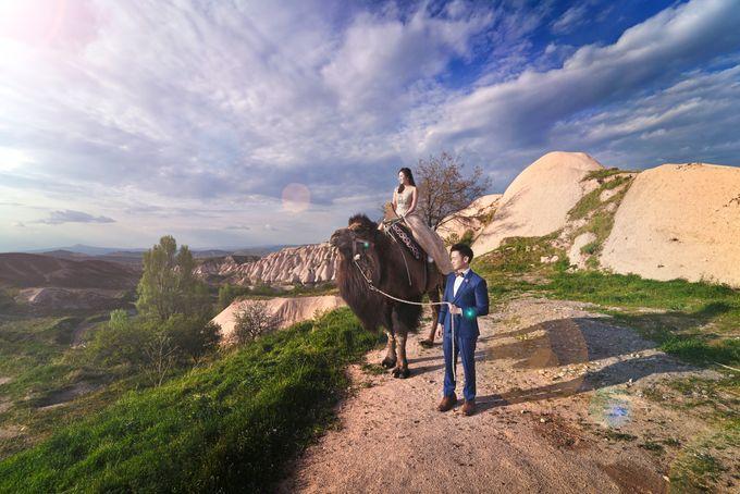 Casual Destination PreWedding at Cappadocia by ALLUREWEDDINGS - 007