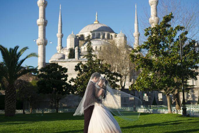Casual Destination PreWedding at Istanbul by ALLUREWEDDINGS - 006