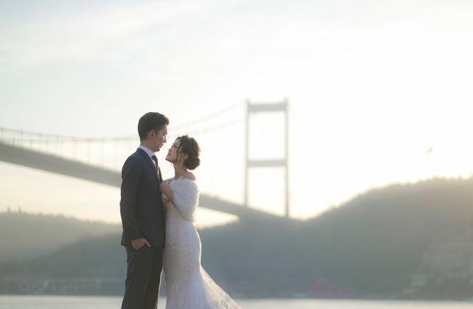 Casual Destination PreWedding at Istanbul by ALLUREWEDDINGS - 005