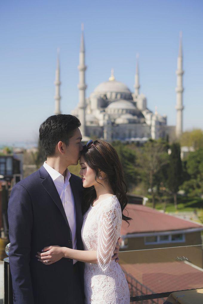 Casual Destination PreWedding at Istanbul by ALLUREWEDDINGS - 010