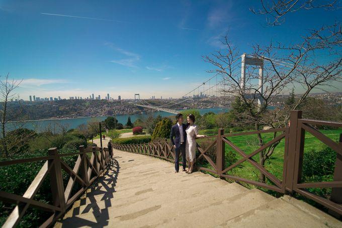 Casual Destination PreWedding at Istanbul by ALLUREWEDDINGS - 011