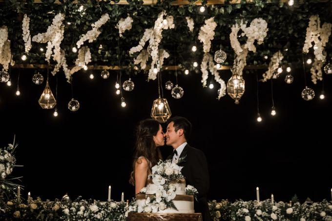 Beautiful Seashore Wedding of Loretta & Felix by Silverdust Decoration - 038
