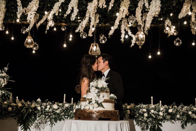 Beautiful Seashore Wedding of Loretta & Felix by Silverdust Decoration - 039