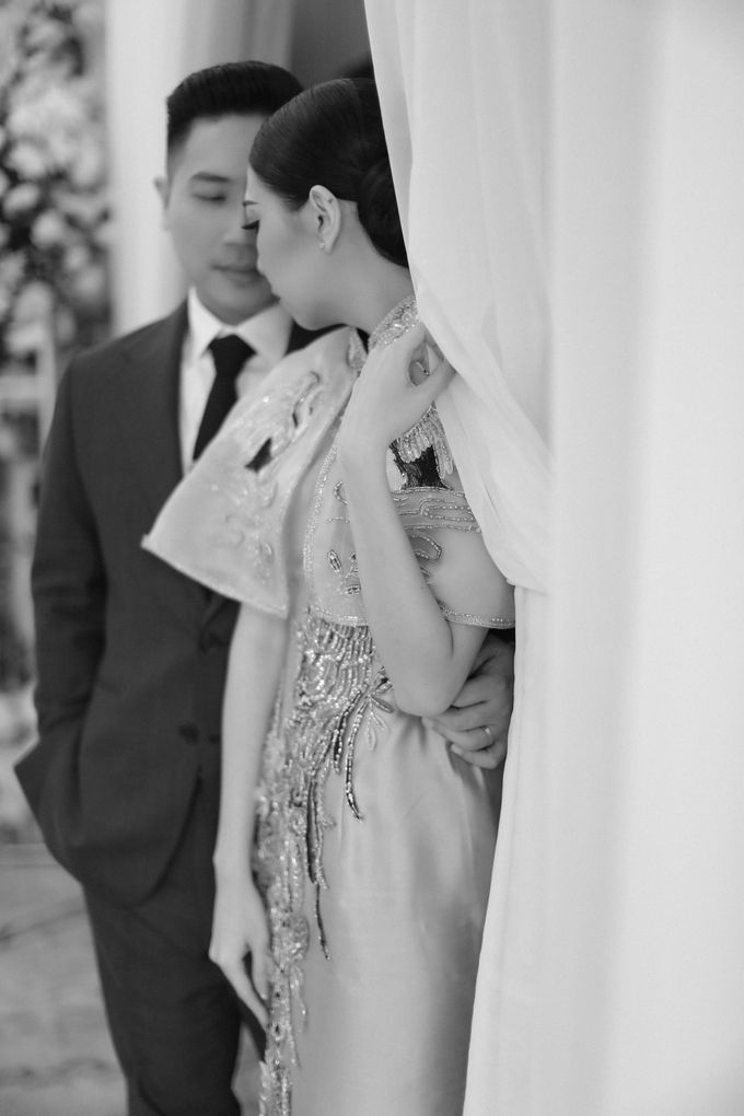 Holy Matrimony & Tea Ceremony Rendy & Tiffany by Priscilla Myrna - 034