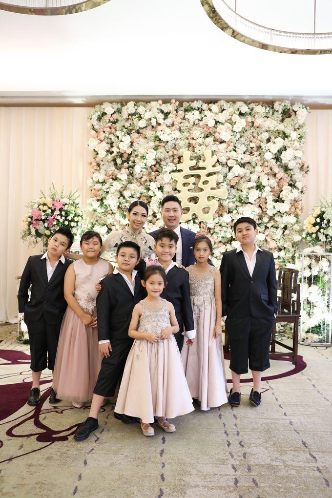 Holy Matrimony & Tea Ceremony Rendy & Tiffany by WYMM Organizer - 037