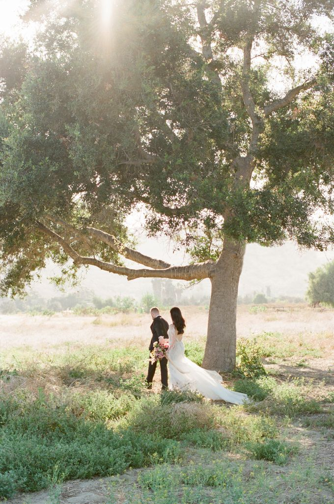Southern California Spring Pre-Wedding by Feather and Stone Photography - 016