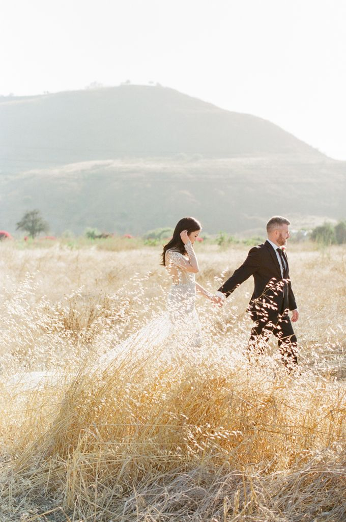 Southern California Spring Pre-Wedding by Feather and Stone Photography - 019