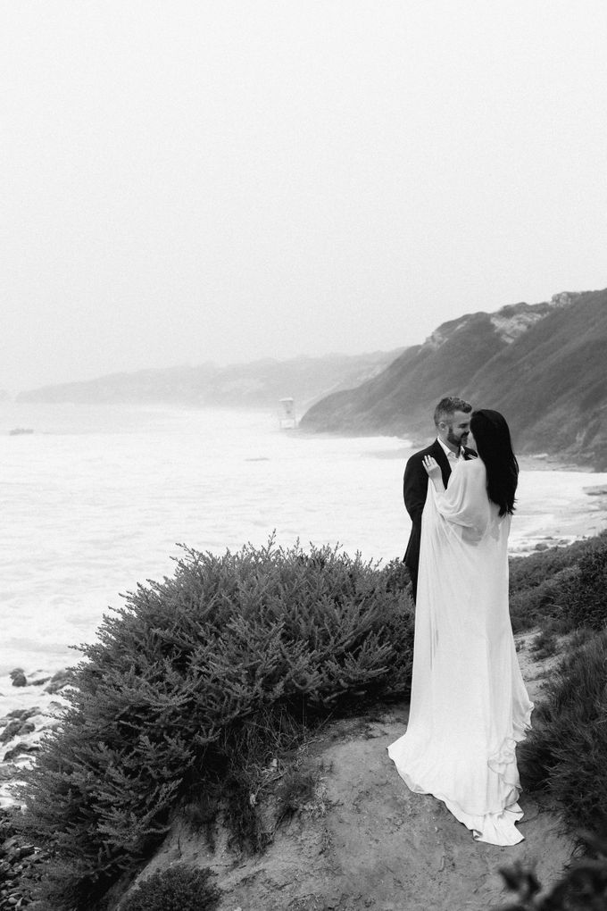 Southern California Spring Pre-Wedding by Feather and Stone Photography - 035